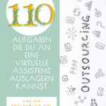 Pinterest Pin zu 110 Aufgaben
